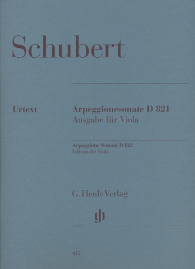 Schubert, Arpeggionesonate D 821