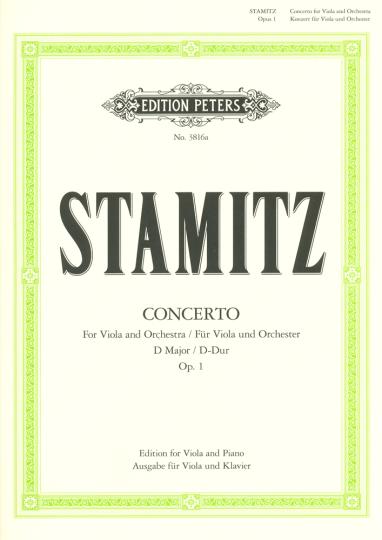 Stamitz, Konzert D-Dur, Opus 1