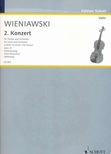 Wieniawski, 2. Konzert, d-Moll, Opus 22