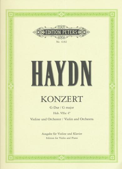 Haydn, Konzert G-Dur, Hob. VIIa: 4*
