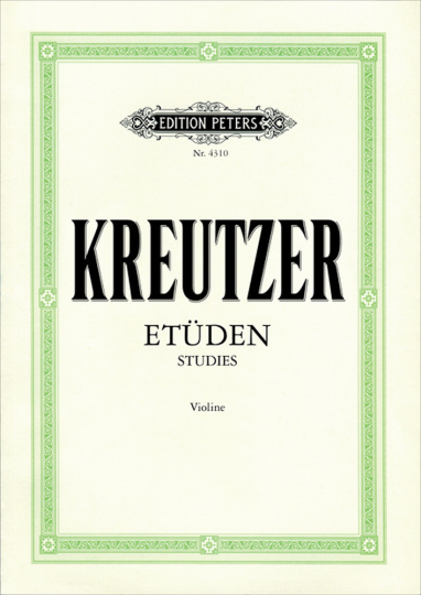 Kreutzer, Etüden Violine