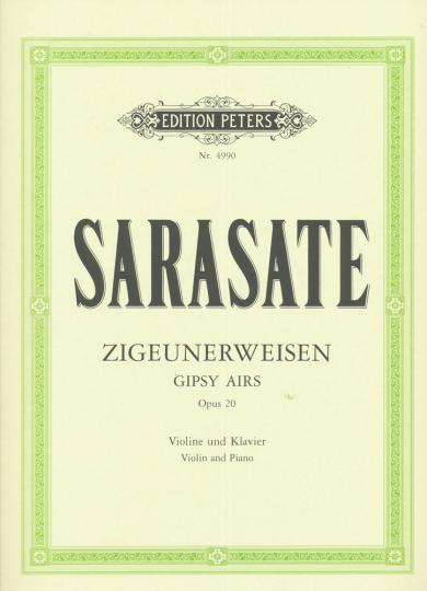 Sarasate, Zigeunerweisen, Opus 20