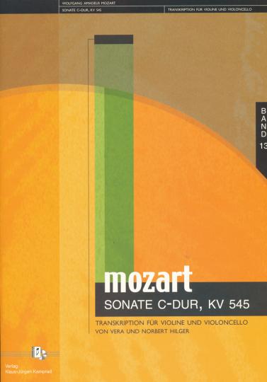 Mozart, Sonate C-Dur, KV 545