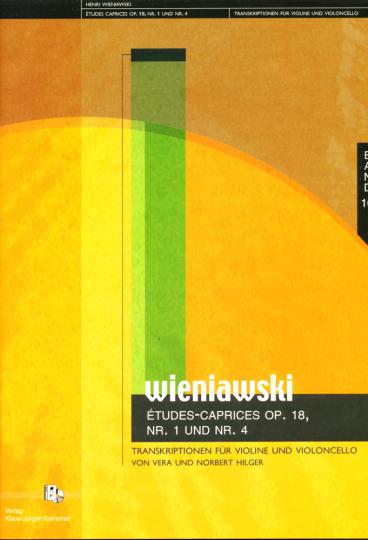 Wieniawski, Etudes Caprices op. 18