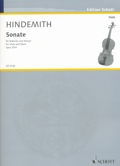Hindemith, Sonate Opus 25/4