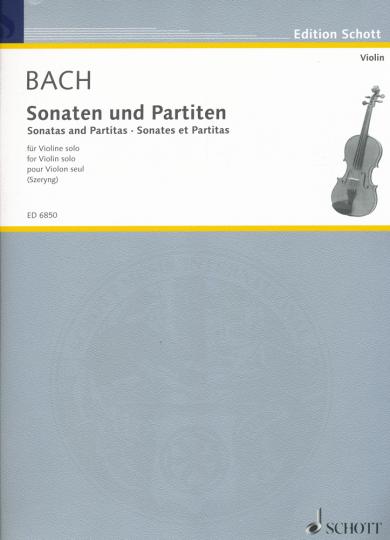 Bach, Sonaten und Partiten