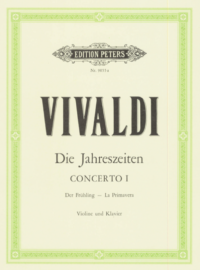Vivaldi,  Konzert Die Jahreszeiten - Der Frühling