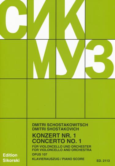 Schostakowitsch, Konzert Nr. 1, Opus 107