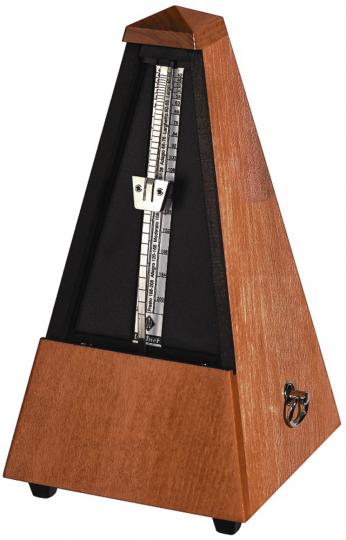 Wittner Metronom Pyramide, Mahagonifarbig matt