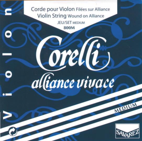CORELLI Alliance vivace Violinsaiten SATZ mit E-Schlinge