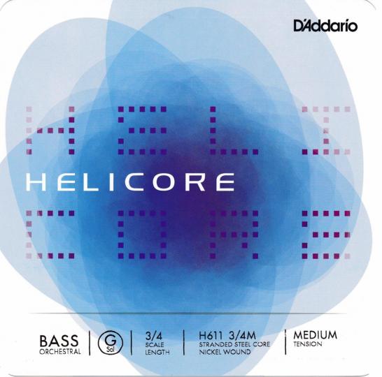 D´ADDARIO  Helicore Bass Satz H, heavy