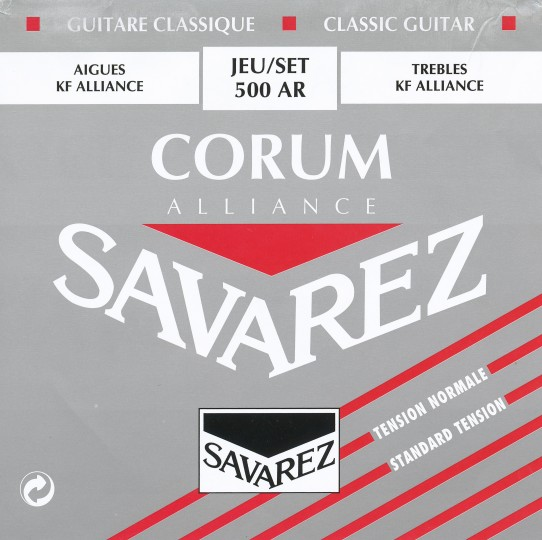 SAVAREZ Corum Alliance Gitarresaiten SATZ, Medium Tension