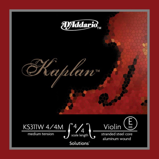 D´ADDARIO Kaplan Solutions Violinsaite E, medium