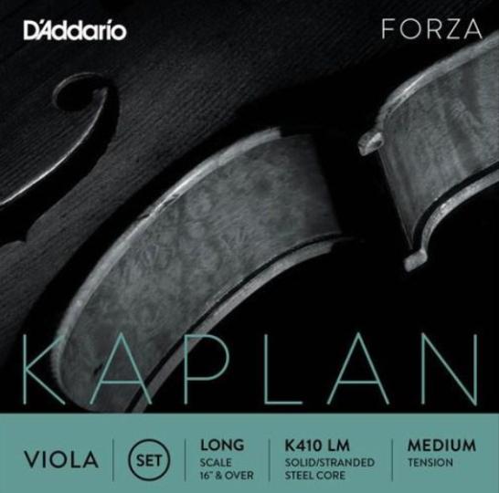 D´ADDARIO Kaplan Violasaite D Aluminium, medium