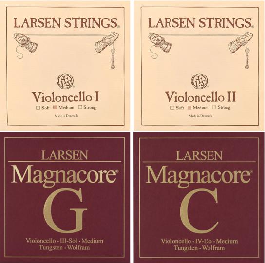 LARSEN / Magnacore Cellosaiten SATZ