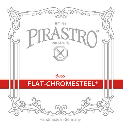 PIRASTRO Flat-Chromesteel Basssaiten SATZ