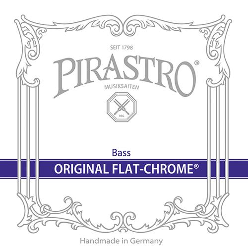 PIRASTRO Original Flat Chrome Basssaiten SATZ