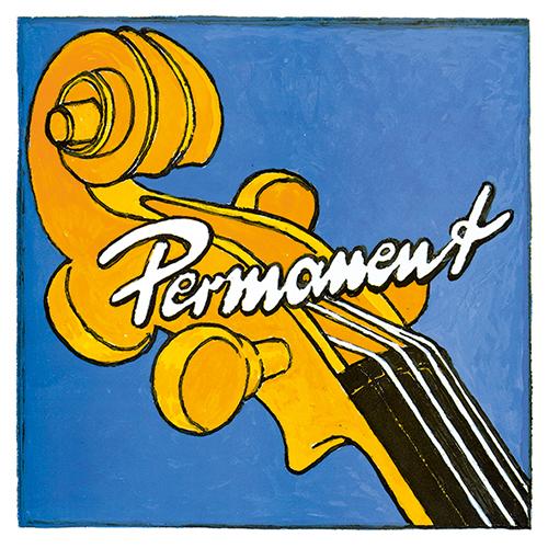 PIRASTRO Permanent Basssaite D, mittel