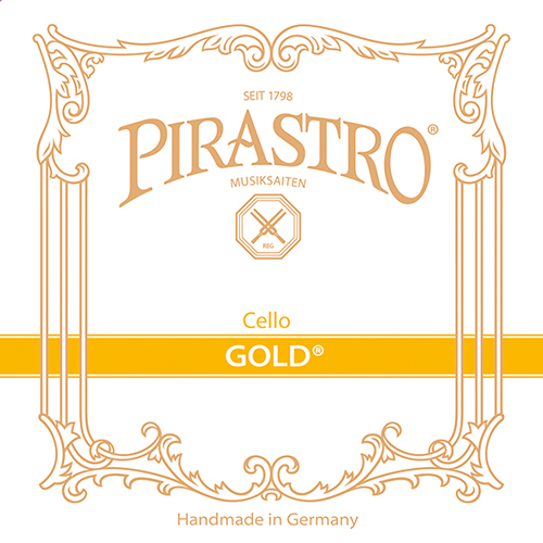 PIRASTRO Gold Cellosaite D, mittel