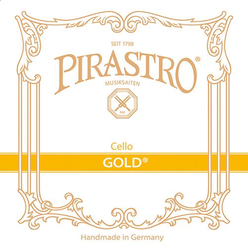 PIRASTRO Gold Cellosaiten SATZ, mittel