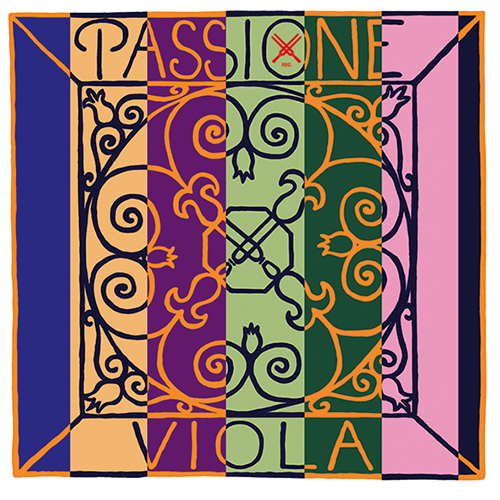 Pirastro PASSIONE A-Saite für Viola, Stahl, Stärke stark