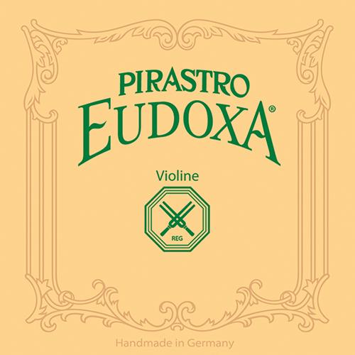 PIRASTRO Eudoxa Violinsaite E mit Schlinge blank, mittel