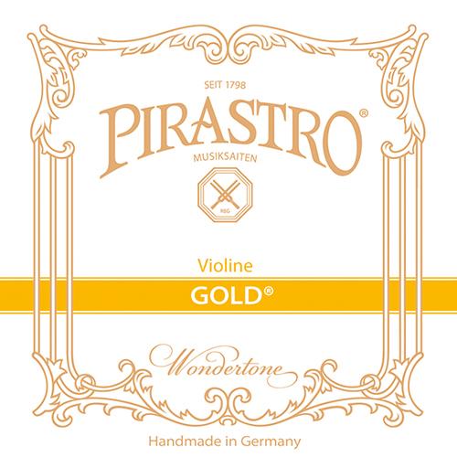 PIRASTRO Gold Violinsaiten SATZ mit E-Schlinge
