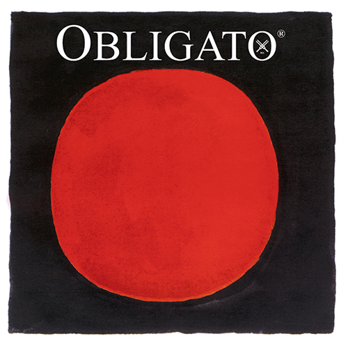 PIRASTRO Obligato Violinsaite A Chromstahl, mittel