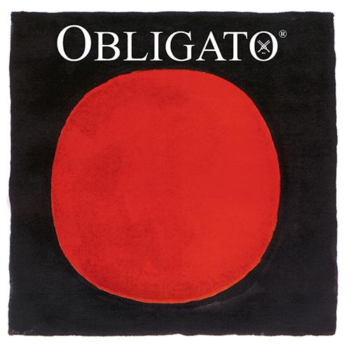 PIRASTRO Obligato Satz Violinsaiten 4/4 mit E-Kugel, mittel
