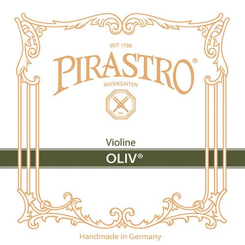 PIRASTRO  Oliv Violinsaiten SATZ mit E-Kugel, mittel