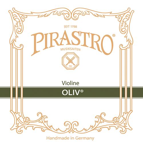 PIRASTRO  Oliv Violinsaiten SATZ mit E-Schlinge, mittel