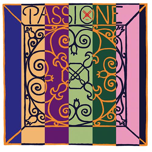 PIRASTRO Passione Solo Violinsaite E mit Schlinge, Stärke 26,0