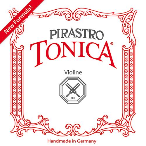 PIRASTRO  Tonica Violinsaiten SATZ mit E-Kugel, mittel