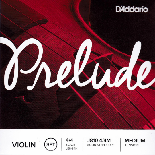 D´Addario Preulde Violinsaiten SATZ mit E-Kugel, medium