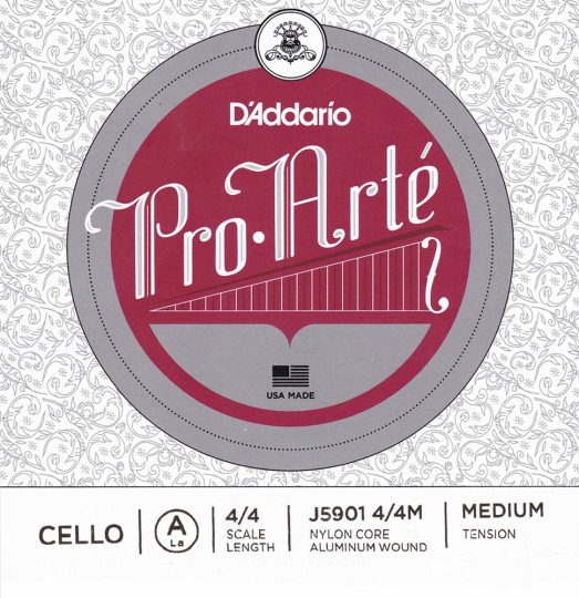D´ADDARIO Pro Arté Cellosaite A, medium