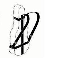 Rucksack-Kombination für Celloetui