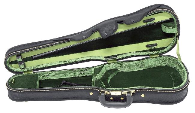 GEWA Original Jaeger Prestige-Line Formetui, 4/4, braun/grün