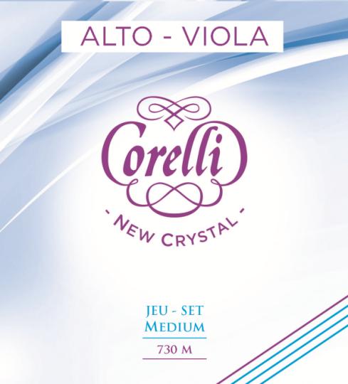 CORELLI Crystal Violasaiten SATZ