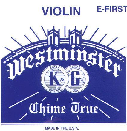 WESTMINSTER Violinsaite E mit Kugel